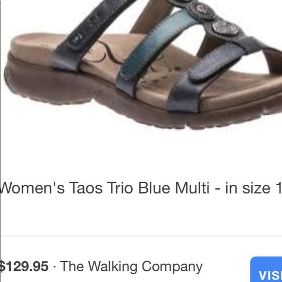 Women/'s Taos Trio Blue Multi